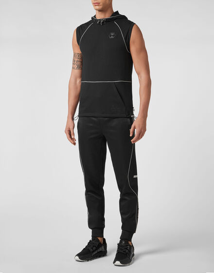 Jogging Vest  Stripes