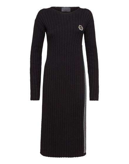 Knit Day Dress Ocean