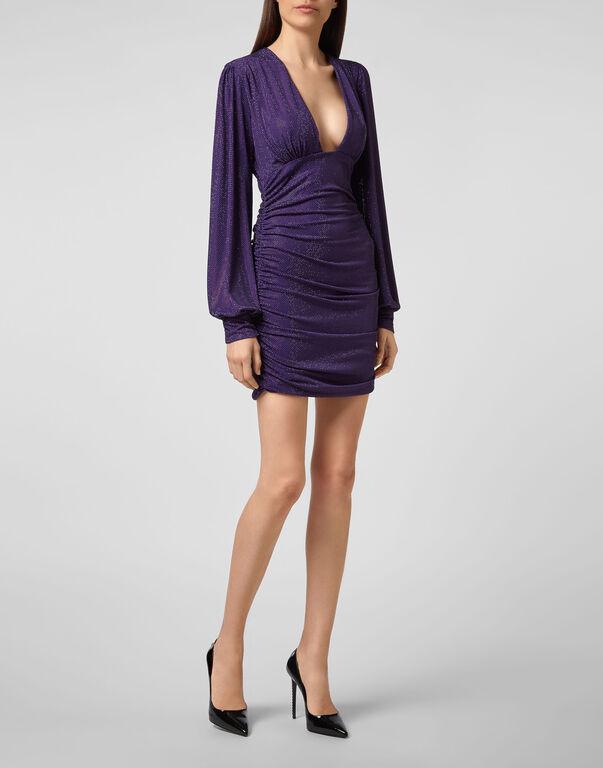 Short Dress Daphne Crystal