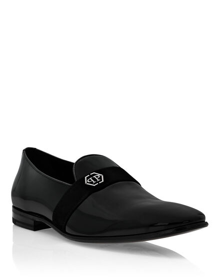 Patent leather Loafers Hexagon