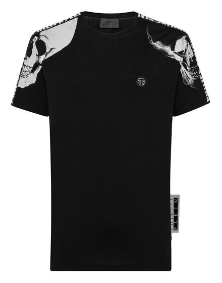 0a1488ae11 ... T-shirt Platinum Cut Round Neck Philipp Plein TM