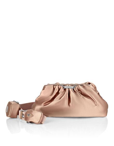 Nylon maxi Shoulder Bag Iconic Plein