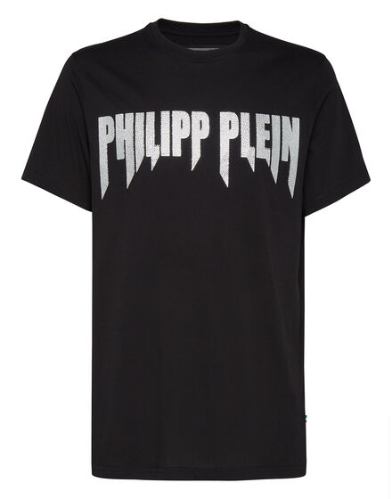 T-shirt Platinum Cut Round Neck Rock PP