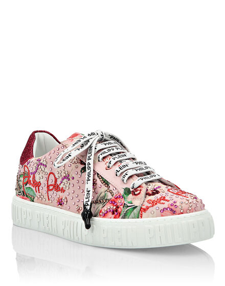 Lo-Top Sneakers Flowers