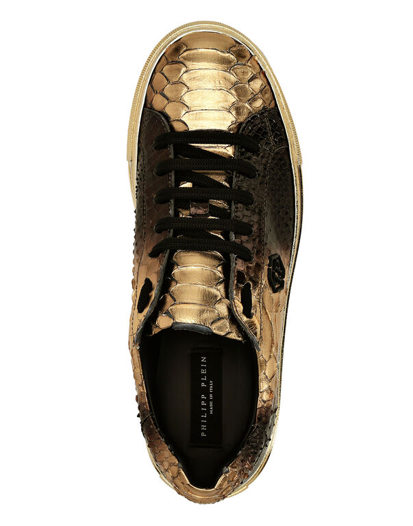 Lo-Top Sneakers Gold