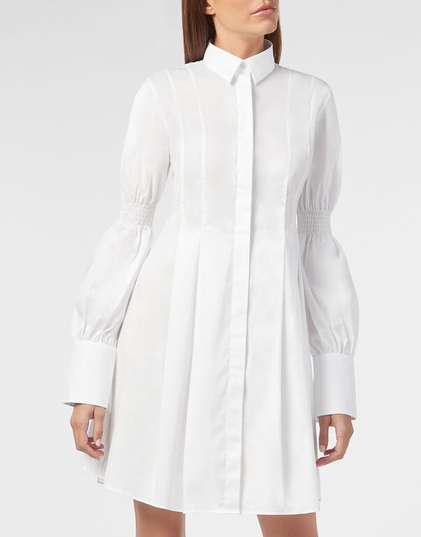 Shirt Dress Crystal Plein