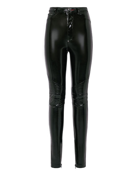 Super High Waist Biker Statement