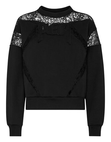 Sweatshirt LS Lace