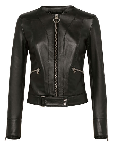Leather Jacket Statement