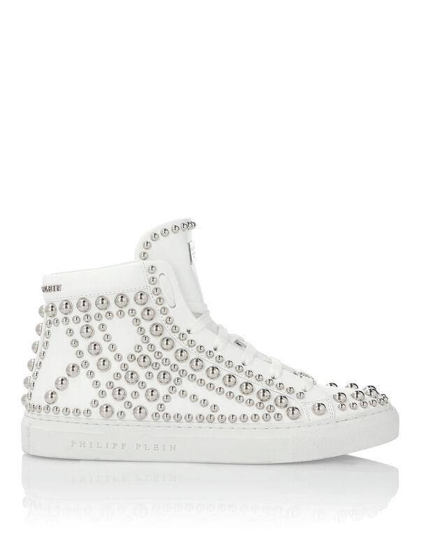 """Hi-Top Sneakers """"Rock Girl"""""""