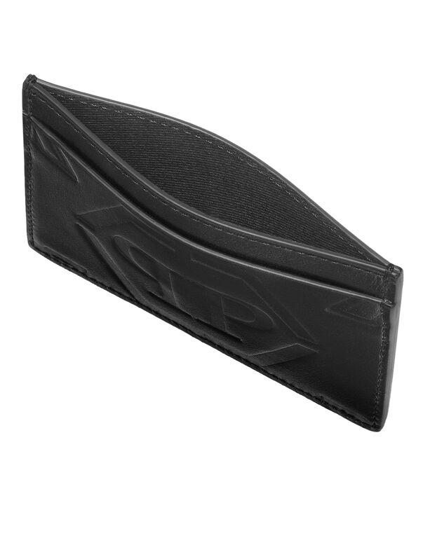 Leather Credit Cards Holder Monogram