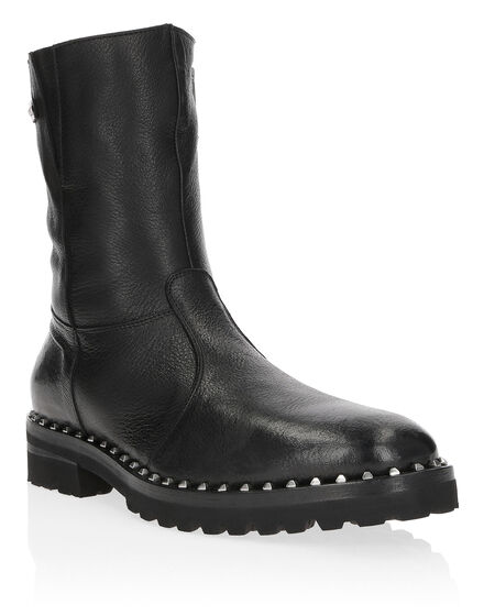 Boots Mid Flat Elegant