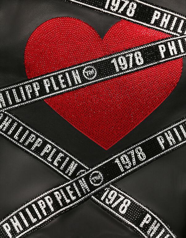 Leather Bomber Philipp Plein TM