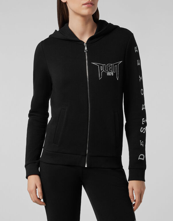 Hoodie Sweatjacket Rock band
