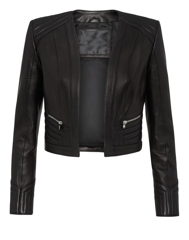 Leather Jacket Elegant