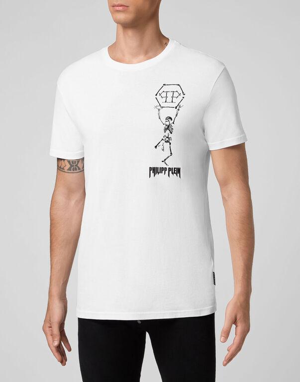 T-shirt Round Neck SS Skeleton