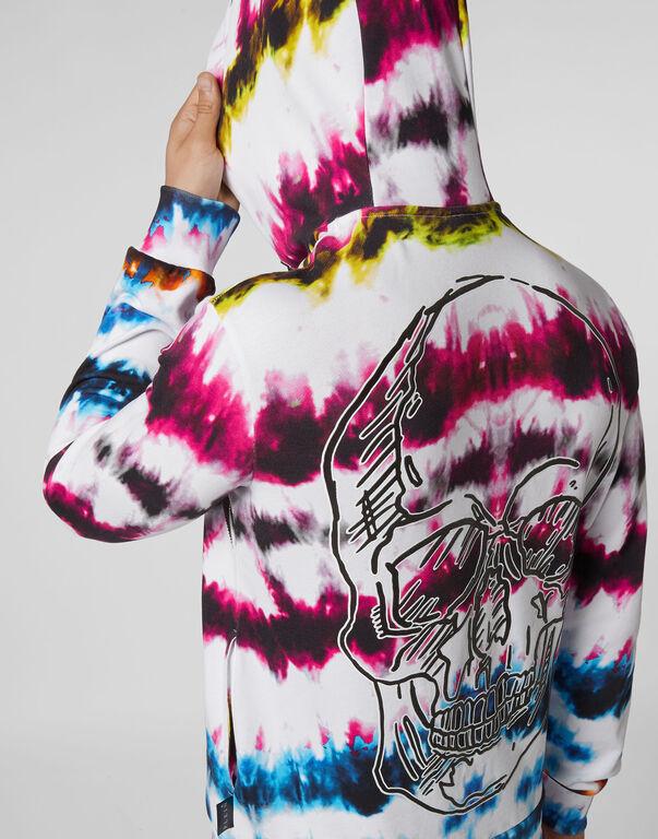 Hoodie sweatshirt Tie dye