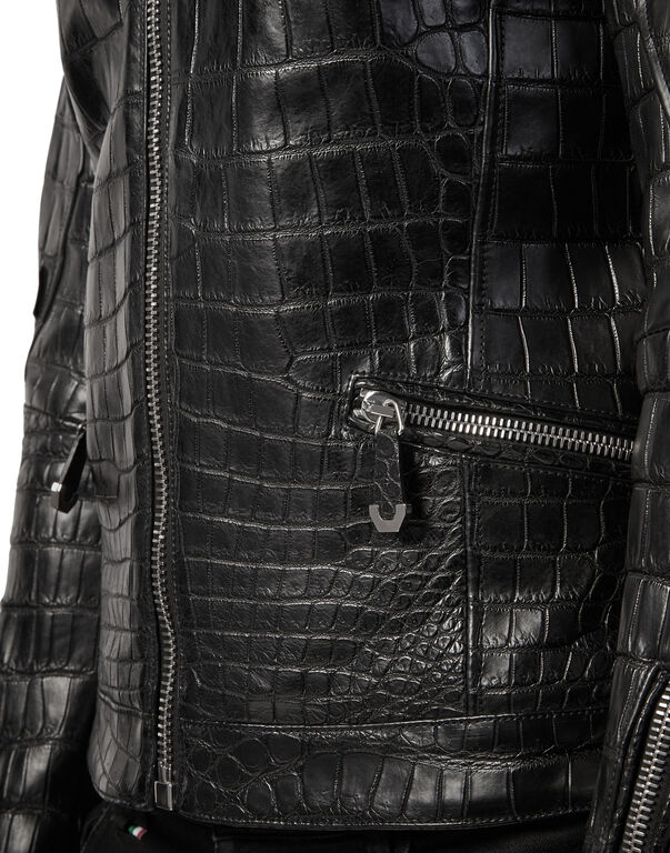 """Leather Jacket """"Simply cocco"""""""