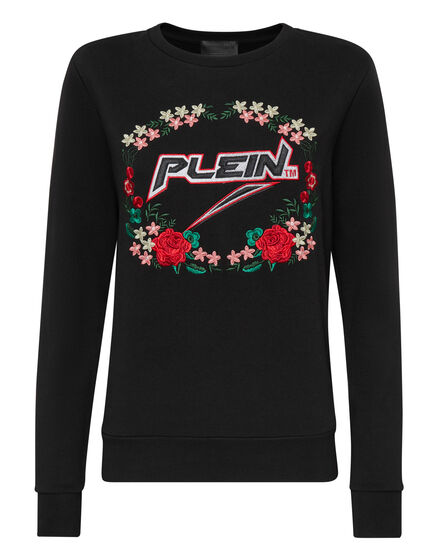 Sweatshirt LS Space Plein
