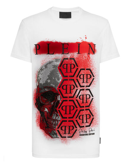 T-shirt Round Neck SS Painted
