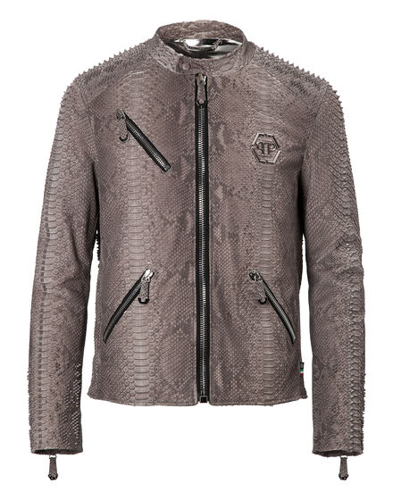 Leather Moto Jacket Metro
