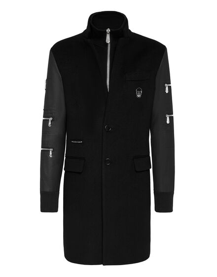 Coat Long Iconic Plein