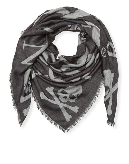 Square Scarf Skull all in
