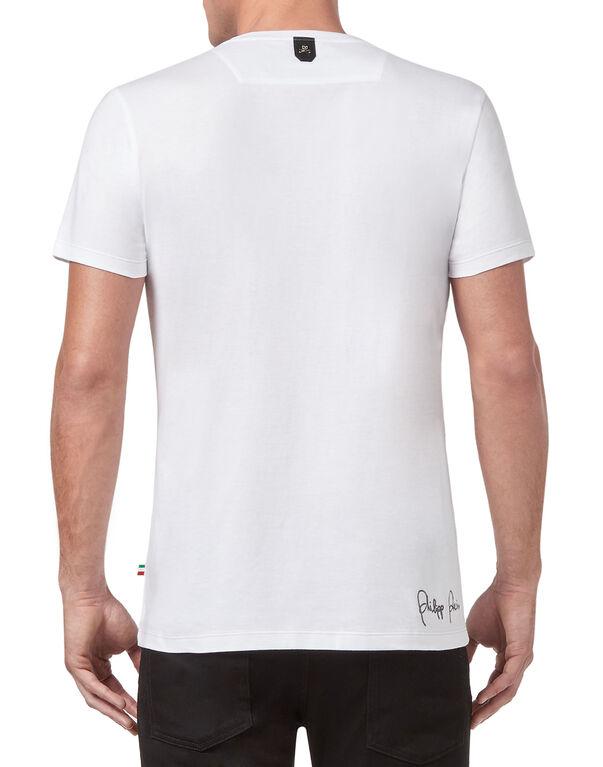 "T-shirt Platinum Cut V-Neck ""Cold"""