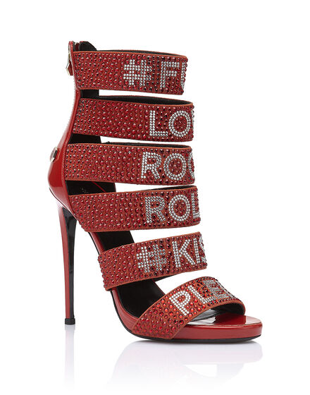 Sandals High Heels Loves rock and roll