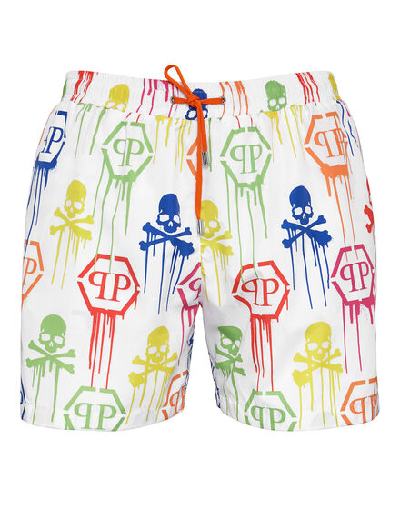 Beachwear Short Trousers Skull