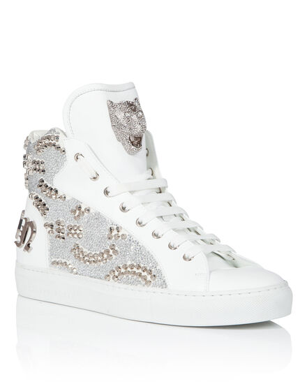 Hi-Top Sneakers Shiny studs