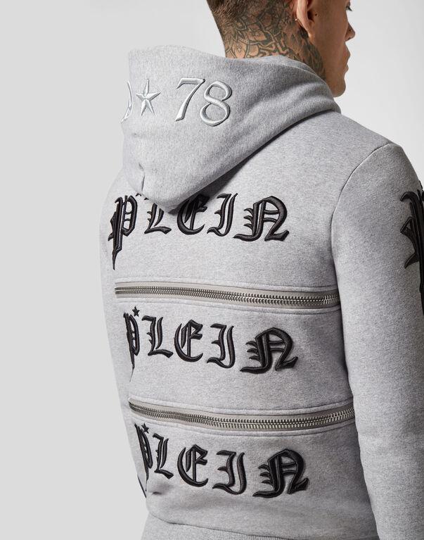 Hoodie Sweatjacket Zipped