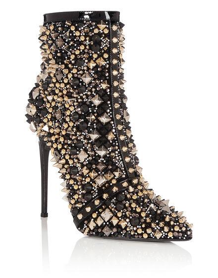 bootie high heels Carré