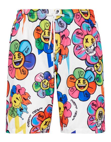 Beachwear Short Trousers Flowers