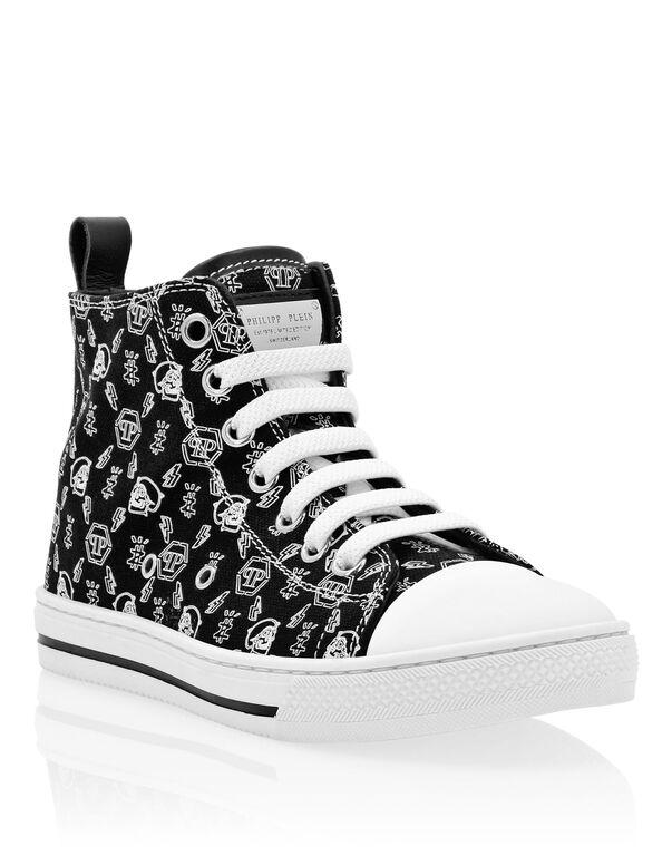 Hi-Top Sneakers Monogram Megastar