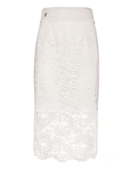 Long Skirt Lace