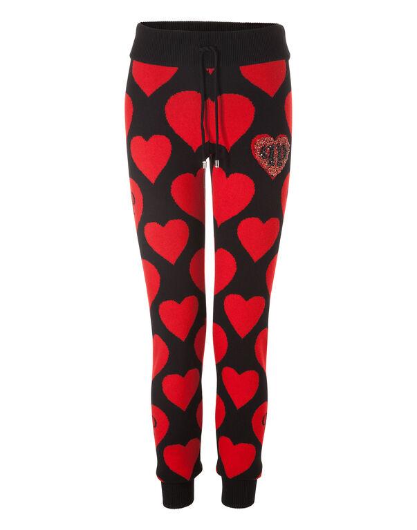 "Knit Jogging Trousers ""Bolivian anaconda"""