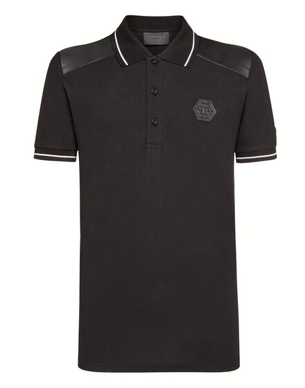 Polo shirt SS Skull strass