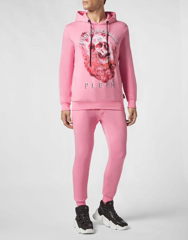 Hoodie sweatshirt Pink paradise