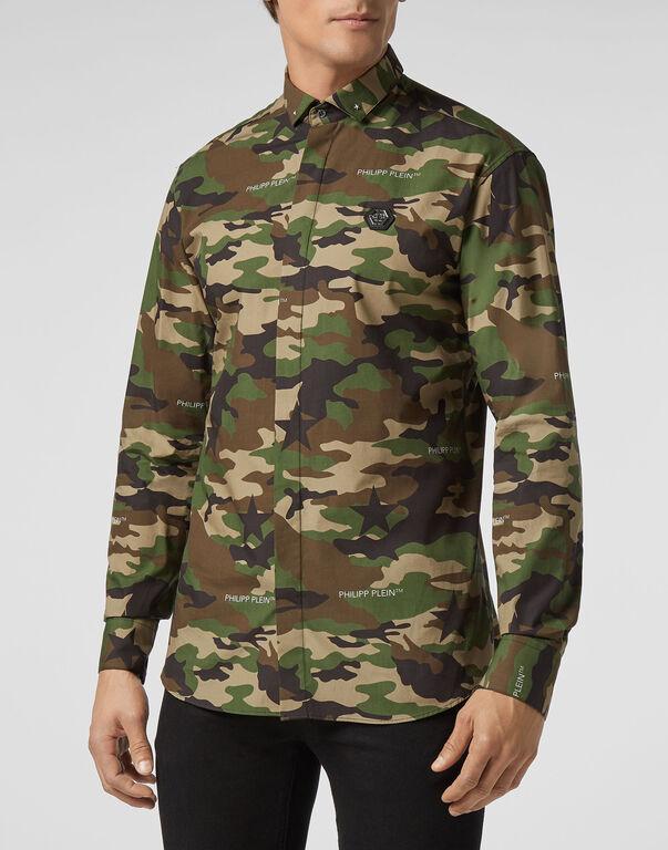 Shirt LS Camouflage