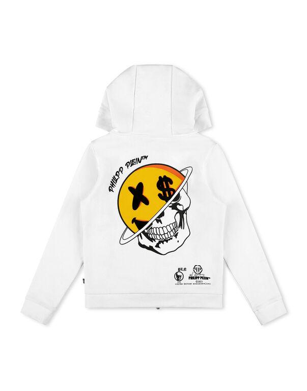 Hoodie Sweatjacket Smile