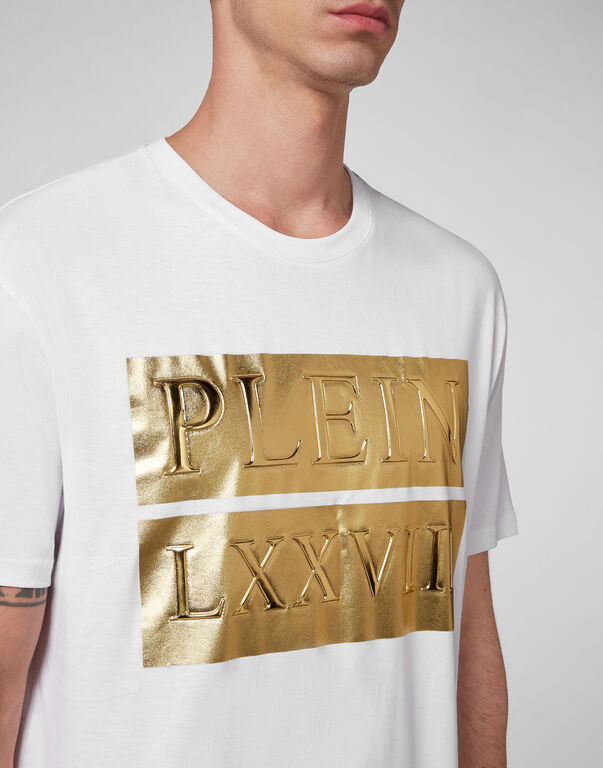 T-shirt Round Neck SS Gold