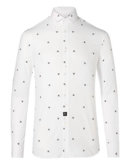 Shirt Diamond Cut LS Adorn