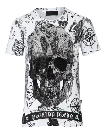 T-shirt Round Neck SS Back