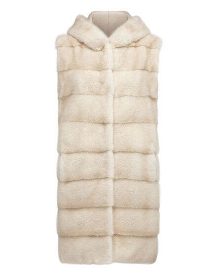 Fur Vest Long Luxury