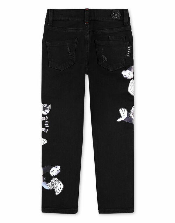 Denim Trousers Regular fit Dollar