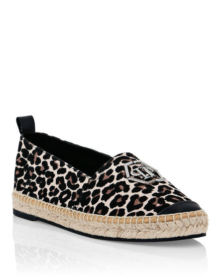 Canvas Espadrillas Leopard