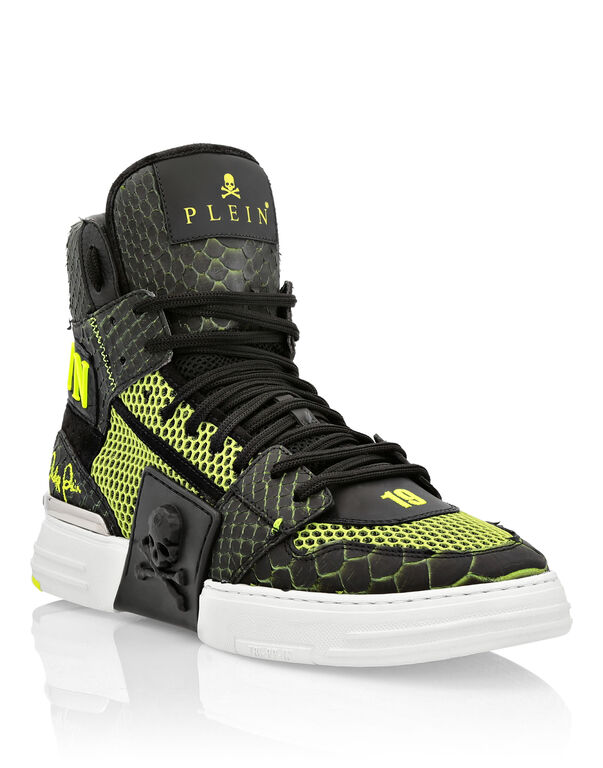 PHANTOM KICK$ Hi-Top Python Skull