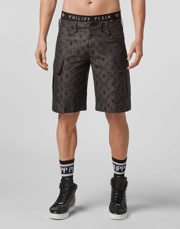 Short Trousers Jacquard Monogram