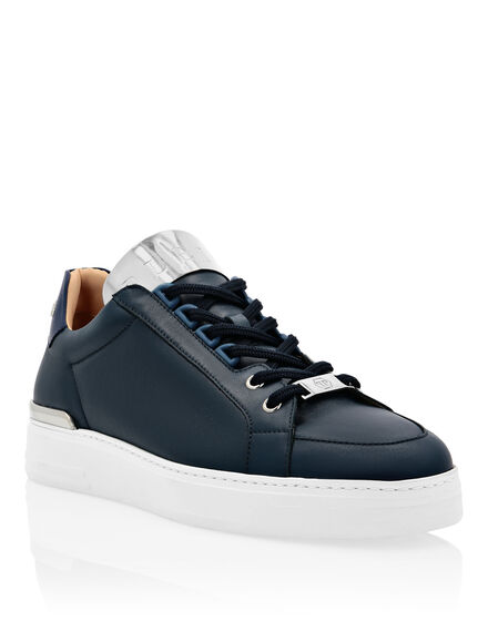 Leather Lo-Top Sneakers Networth
